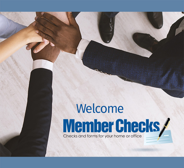 Welcome Member Checks Customers. Personal Checks, Business Checks, Accessories and Tax Forms - Shop Now