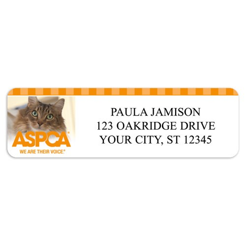 Aspca Return Address Labels Arts