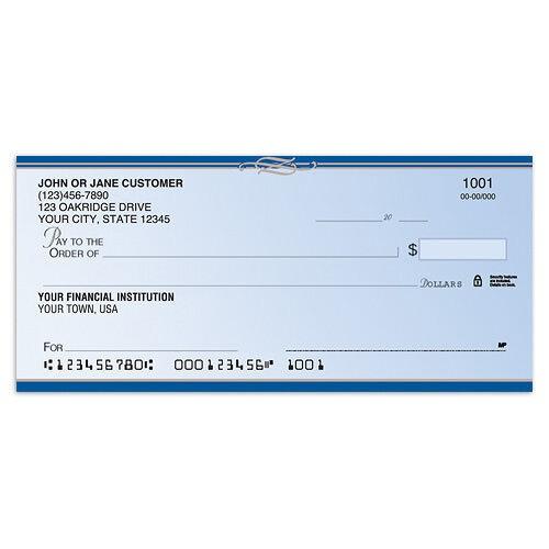 classic elite personal checks