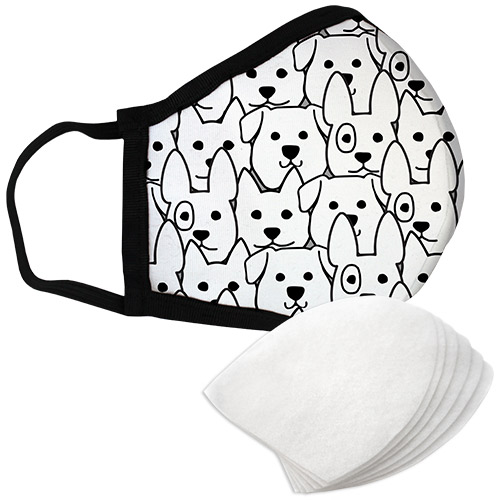 Puppies - Standard Face Mask with Filters