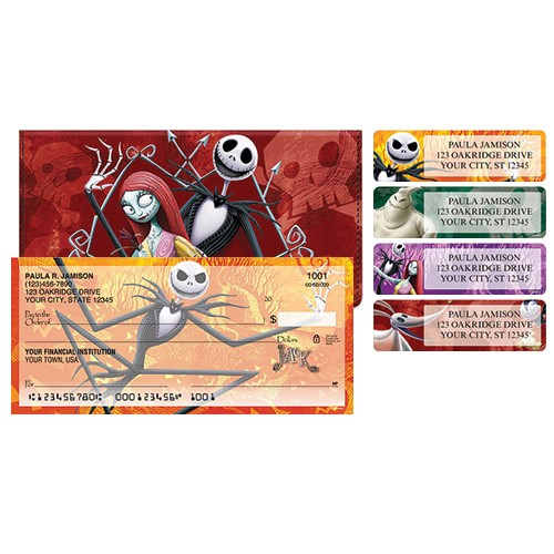 Jack Attack Package Deal - Checks, Cover, Address Labels