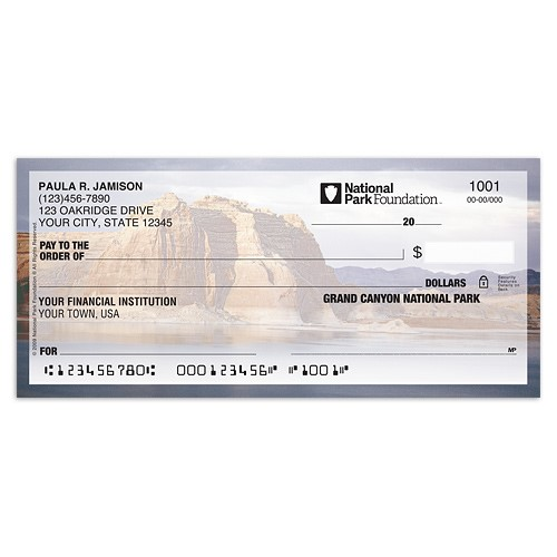 National Parks Iii Personal Checks Checks In The Mail