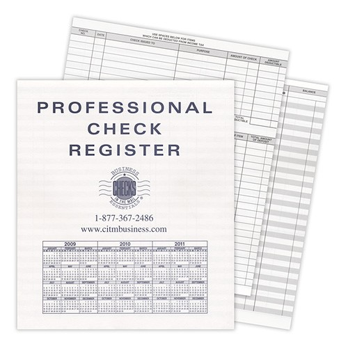 extra compact business transaction register