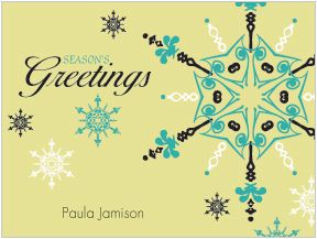 Season's Greetings Folded Notes