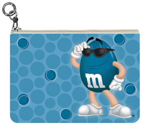 Blue M&M'S Coin Purse