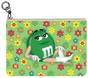 Green M&M'S Coin Purse