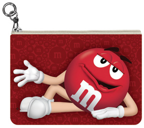 Red M&M'S Coin Purse