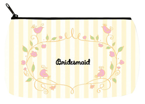 Floral Yellow Bridal Bag - Small