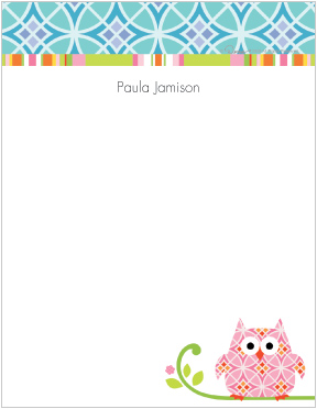 happi Owl Note Pads