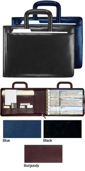 Leather Executive Binder