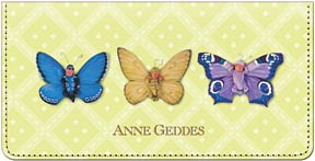 Anne Geddes Butterflies Leather Cover