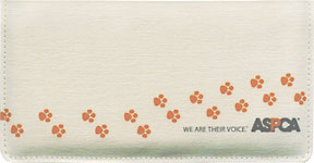 ASPCA � Canvas Checkbook Cover