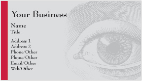 Eye Business Cards