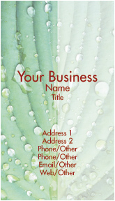 Green Plant Business Cards