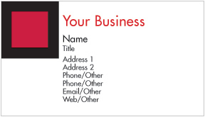 Graphic 2 Business Cards