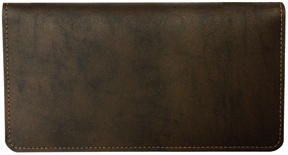 Dark Brown Bonded Leather Cover