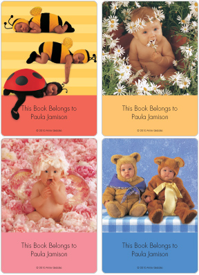 Anne Geddes Book Plate Labels