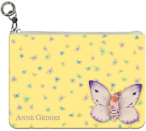 Anne Geddes Butterflies Coin Purse