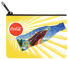 Coca-Cola Yellow Sun Coin Purse
