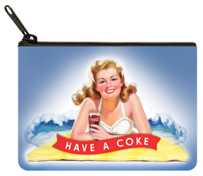 Coca-Cola Girl Coin Purse