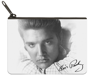 Elvis™ B&W Portrait Coin Purse