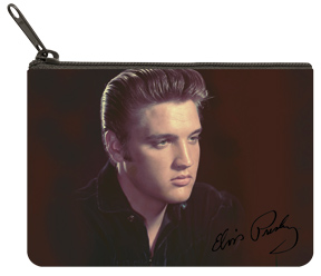 Elvis™ Color Portrait Coin Purse