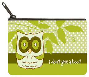Give A Hoot Coin Purse