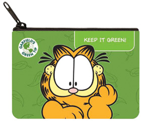 Garfield Green Coin Purse