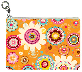 Pop Floral Coin Purse