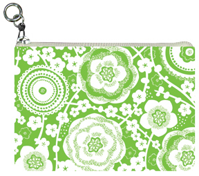 Preppy Sweet Garden Coin Purse