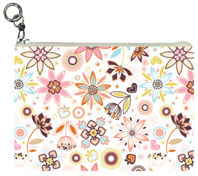 Day Water Flowers Coin Purse