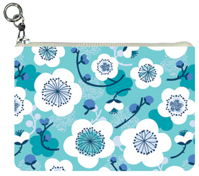 Underwater Blossoms Coin Purse