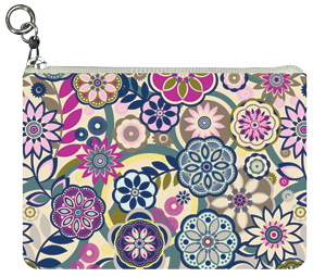 Fancy Floral Coin Purse