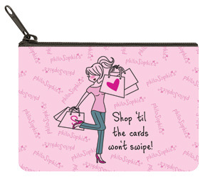 Shopping Coin Purse
