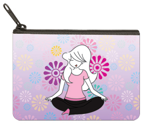 Yoga by philoSophies Coin Purse