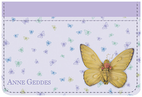 Anne Geddes Butterflies Debit Caddy