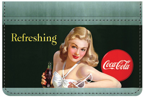 Coca-Cola Girl Debit Caddy