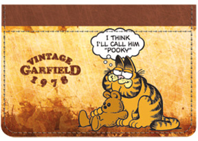 Garfield Vintage Debit Caddy
