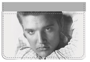 Elvis™ B&W Portrait Debit Caddy