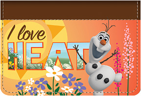 Olaf Heat Debit Caddy