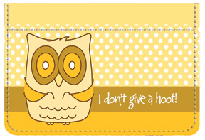 Give A Hoot Debit Caddy