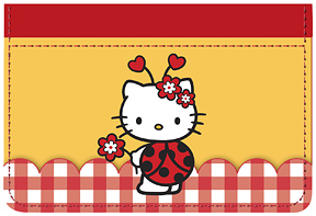 Hello Kitty� Ladybug Debit Caddy