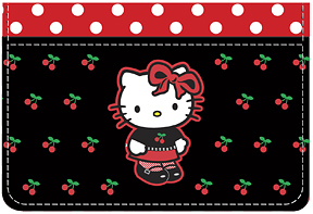 Hello Kitty� Cherries Debit Caddy