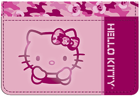 Hello Kitty� Camo Debit Caddy