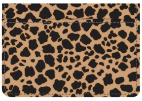 Leopard Debit Caddy