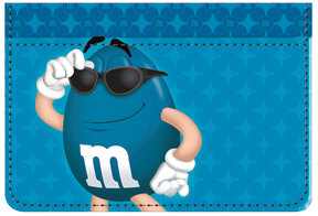 Blue M&M'S Debit Caddy