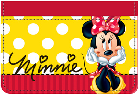 Minnie Sitting Debit Caddy