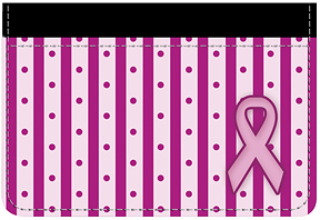 Pink Ribbon Debit Caddy