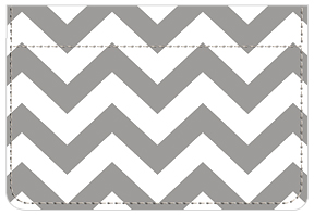 Soho Chic Chevron Debit Caddy