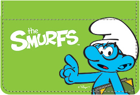 Brainy Smurf Debit Caddy